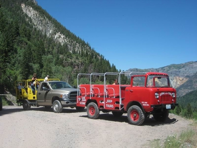 Vacation With Tour Jeep Ouray Colorado July 2008
